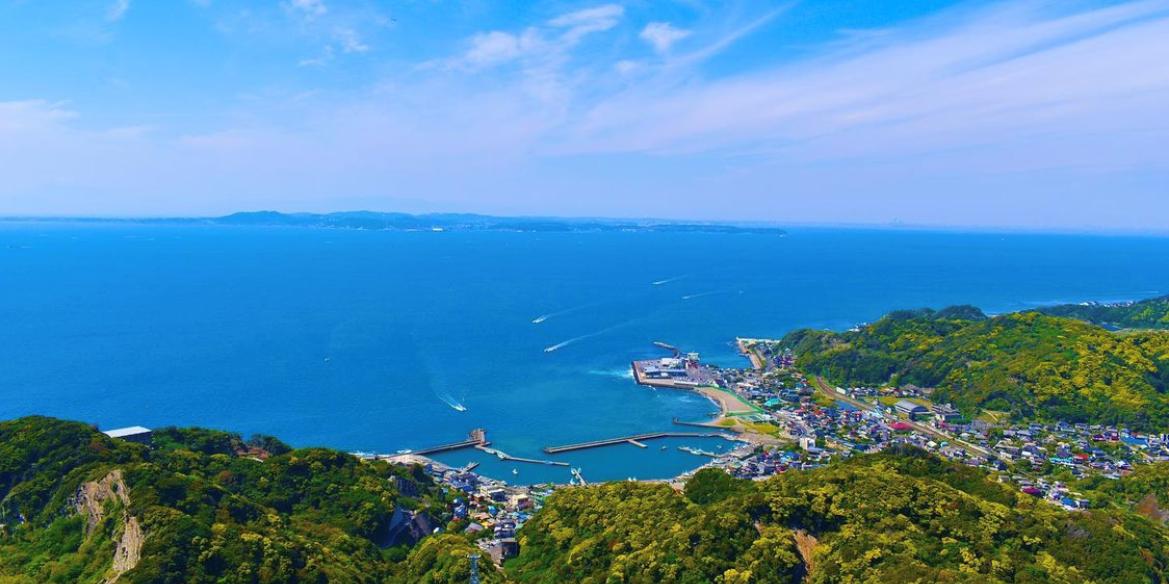 東京湾を一望できる鋸山
